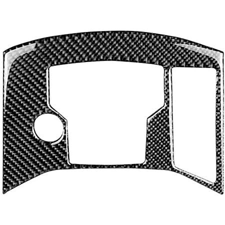 Vosarea Carbonfaser Aufkleber Dekorative Abdeckung Zierleiste Auto Control Schalttafel Für Mazda Cx 5 2017 2018 Schwarz Grau Auto