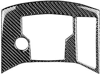 Vosarea Carbonfaser Aufkleber Dekorative Abdeckung Zierleiste Auto Control Schalttafel für Mazda CX 5 2017 2018 (Schwarz + Grau)
