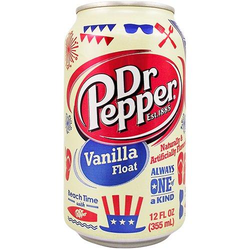 Dr Pepper Vanilla Float 12OZ (355ml) - 24 Cans