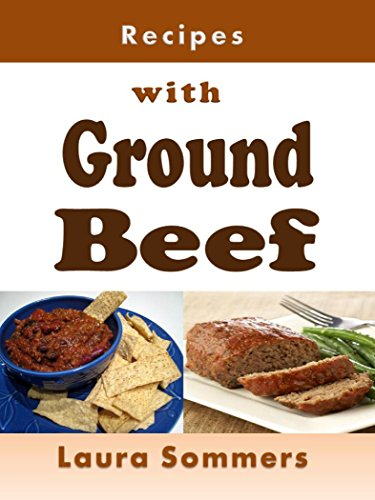 Recipes with Ground Beef: Cookbook for Meatballs, Meatloaf, Hamburgers, Chili and Other Ground Beef Meals by [Laura Sommers]