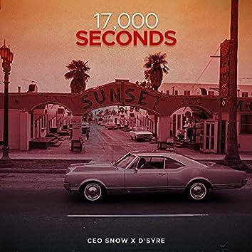 17,000 Seconds