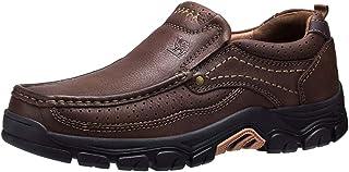 CAMEL CROWN Chaussures de Ville Homme Mocassins Homme Loafers Slip on Oxford Chaussures pour Business Travail Outdoor Noir...