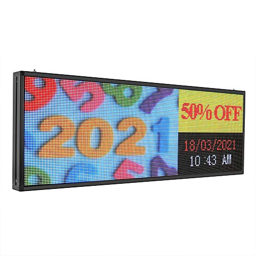 P5 outdoor full color led Programmable Scrolling Display sign display Text,Image, Video display for Busines Window