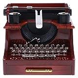 XIAOGING Retro Macchina da Scrivere Creativo Roll Up Accessori for la scrivania