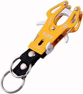 DORLIONA G Golden Size S Practical Aluminum Alloy Carabiner Camp Clip Lock Hook Keychain EN3965 T RASP dremel 2016