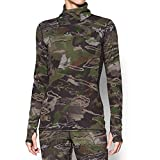 Under Armour Women's Mid Season Wool Top,Ridge Reaper Camo Fo (943)/Metallic Beige, X-Large