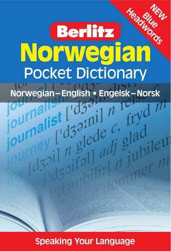 Norwegian Pocket Dictionary (Berlitz Pocket Dictionary)