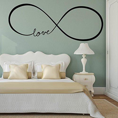 Love Infinity - Adesivo da parete Vinyl Wall Stickers Decals
