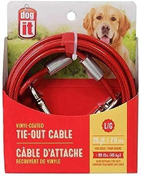 Dogit Câble d'extérieur 7,6, 45 kg