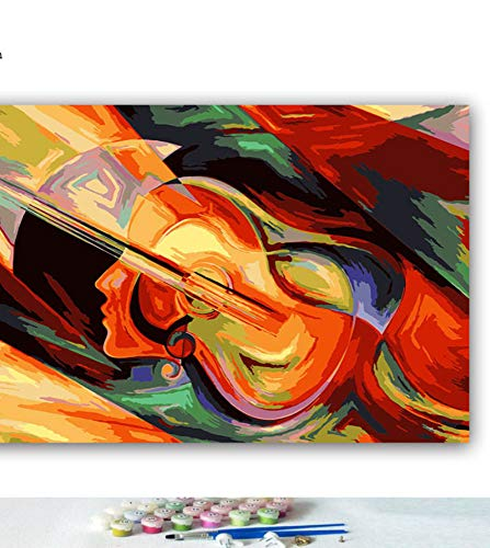 WACYDSD Bricolaje Dibujos para Colorear Imágenes por Números con ...