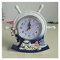 ヘルムマン時計クリエイティブスイミングリングスイング時計ホームウォールデコレーションウォールクロック