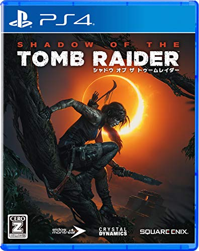 Square Enix Shadow of the Tomb Raider SONY PS4 PLAYSTATION 4 JAPANESE VERSION [video game]