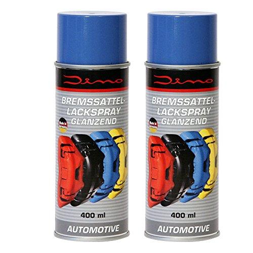 Dino 130096 Bremssattellack 1K Lackspray, 800 ml, Blau glänzend