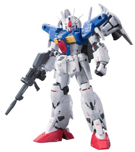 Bandai Hobby Real Grade # 13 Gundam GP01Fb Full Burnern Action Figur Model Kit, 1/144 Maßstab