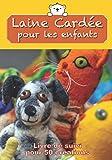 Laine Cardée pour les enfants Livre de suivi pour 50 créations: Carnet de bord à remplir pour suivre et conserver tous vos projets et créations en ... à l'aiguille⎪17,8 cm x 25,5 cm⎪7 x 10 inches