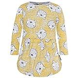 Tuc Tuc Vestido Felpa Sencillo NIÑA, Amarillo (Amarillo 14), 62 (Tamaño del Fabricante:3M) para Bebés