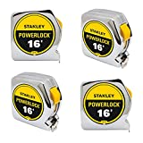 Stanley Tools 33-116 16ft. Powerlock Tape Rule (4-Pack)