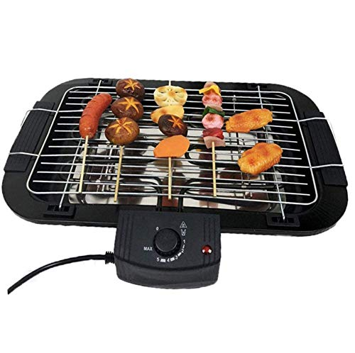 Purchase Portable Grill Electric Indoor Smokeless with Removable Griddle Plate, Korean Barbecue Elec...