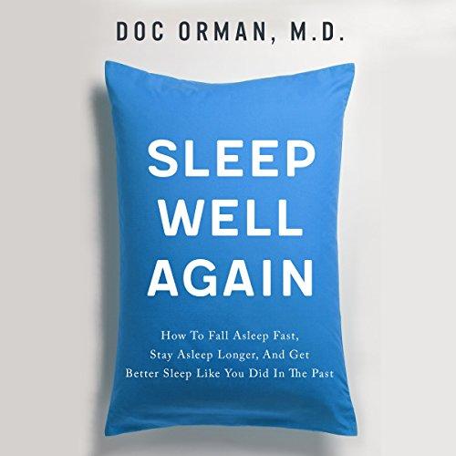Sleep Well Again audiobook cover art