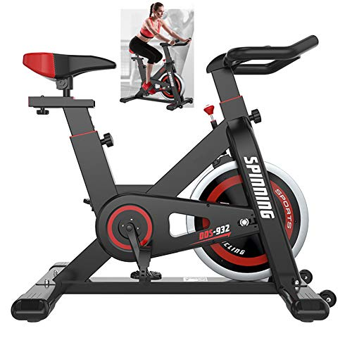 Upright Hometrainer Indoor Studio Cycles Ultra-Quiet met Low-noise riemaandrijving aerobic Training fitness Bike Home Office Gym