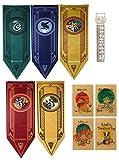 TPOTTER 5pcs[150X45CM] Geburtstags Fahnen und Flaggen für Harry Party Dekorations Töpfer Potter Geschenk Versorgungen Flag und Banner Dekor
