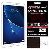 TECHGEAR [2 Stück Bildschirmschutz für Samsung Galaxy Tab A 10,1 Zoll 2016-2018 - Ultra Klare Schutzfolie für Samsung Galaxy Tab A (SM-T580 / SM-T581 / SM-T585) mit Reinigungstuch + Applikationskarte