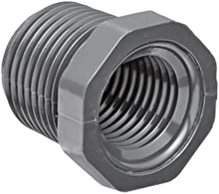 Spears 839 Series PVC Pipe Fitting, Bushing, Schedule 80, 2