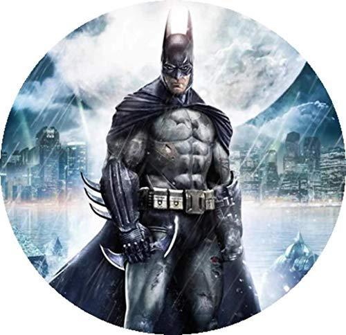 Batman Runde Tortenaufleger 20CM - Geburtstag Tortenbild Zuckerbild Tortenplatte Oblate Kuchenzuckerplatte