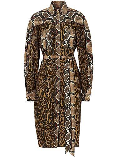 BURBERRY Luxury Fashion Damen 8023882 Braun Kleid |