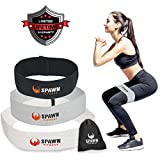 Spawn Fitness Resistance Bands for Legs Butt Glute Training Fit Loop Cotton Latex