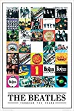 Buyartforless The Beatles Through The Years -35 Album Covers 36x24 Music Art Print Poster