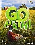 Student Edition Volume 2 Grade 5 2015 (Go Math!)