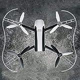 HUANRUOBAIHUO for Parrot Anneau Protection de la Garde Hélice de Protection Pare-Chocs Prop for Parrot Bebop 2.0 RC Drone Quadcopter Accessoires Pièces Accessoires Wing (Bundle : White)
