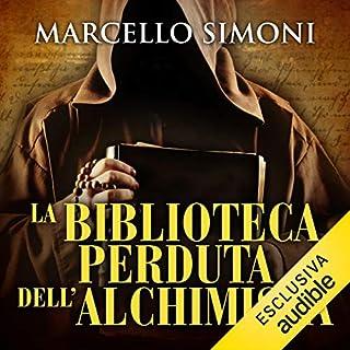 La biblioteca perduta dell'alchimista copertina