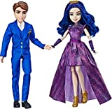 Disney Descendants 3 Royal Couple Engagement, 2-Doll Pack with Fashions and Accessories Brown/a