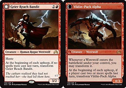 Magic The Gathering - Geier Reach Bandit // Vildin- Pack Alpha (159/297) - Shadows Over Innistrad - Foil