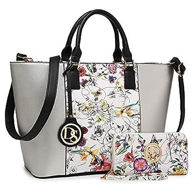 DASEIN Women's Handbags Purses Large Tote Shoulder Bag