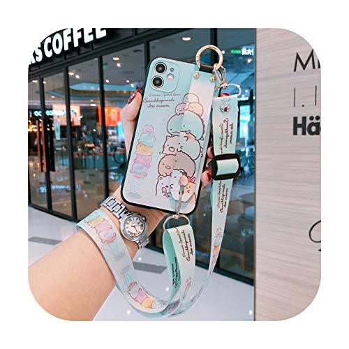 Süßes Umhängeband für Samsung Galaxy A51 A71 A50 A70 S20 Ultra S8 S9 S10 Note 8 9 10 Plus A21S A9 A7 2018–01 für Note10Lite