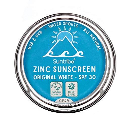 Protector Solar Natural Suntribe - Cara & Deporte - FPS 30