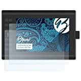 Bruni Película Protectora Compatible con Huion 1060 Plus Protector Película, Claro Lámina Protectora (2X)