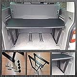 BREMER SITZBEZÜGE Extensión de cama Multiflexboard compatible con VW T5 & T6 Multivan D01