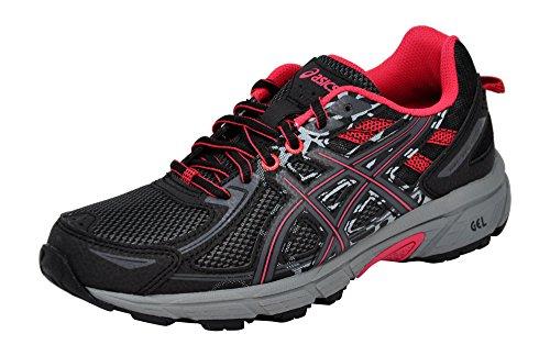 ASICS Women's Gel-Venture 6 Running Shoes, 9M, Black/Pixel Pink