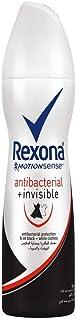 مزيل العرق من ريكسونا للرجال بتركيبة شفافة ومضادة للبكتيريا، سعة 150 مل