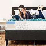 Best Choice Products 10in Full Size Dual Layered Gel Memory Foam Mattress w/CertiPUR-US Certified Foam