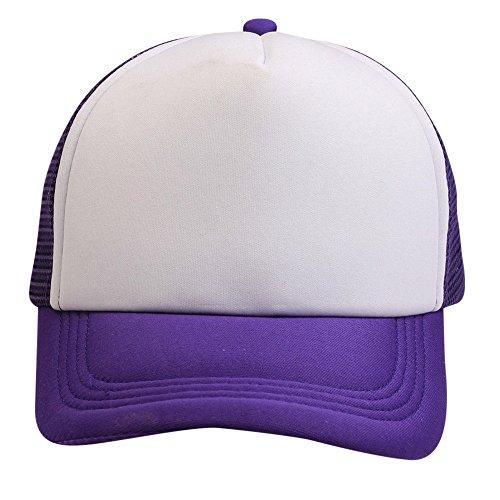 AIni Männer Baseballmütze Sommer Breathable Mesh Sonnenhut Baseball Kappe Wolle Outdoor Sporthut Trucker Cap Schirmmütze UV-Schutz