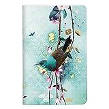 Clairefontaine 115583C - Un carnet piqué Sakura dream 48 pages 7,5x12 cm 90g unies blanches, couverture carte pelliculée motif aléatoire