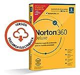 Norton 360 Deluxe 2020 - 5 Dispositivos, 15 Meses, para PC/Mac, Código de activación enviado por email