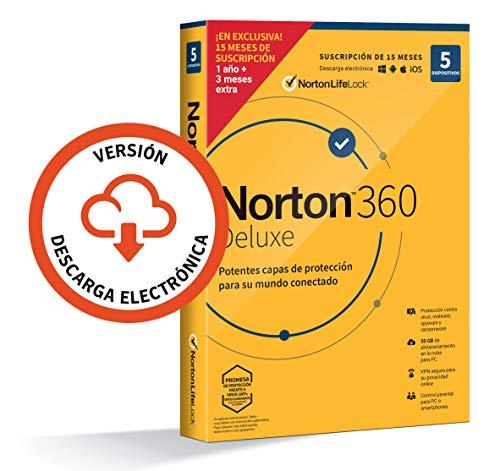 Antivirus Pc 1 Dispositivo Marca NortonLifeLock