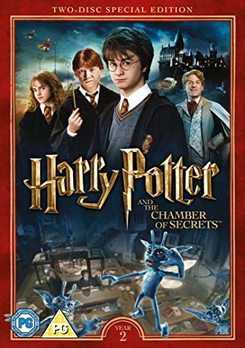 Harry Potter and the Chamber of Secrets [Year 2] [2016 Edition 2 Disk] [DVD] [2002]