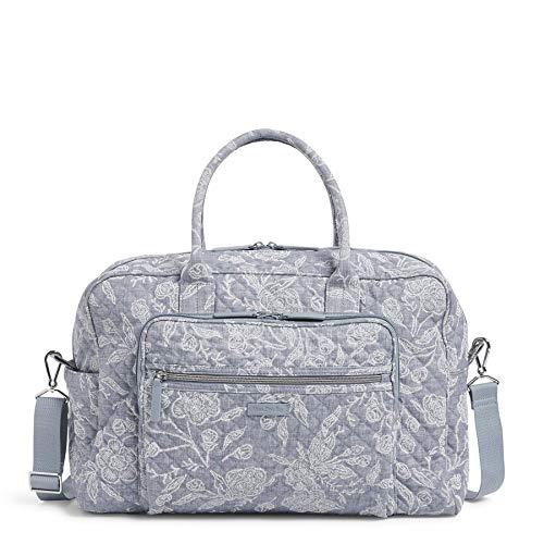 Vera Bradley Signature Cotton Weekender Travel Bag, Park Lace